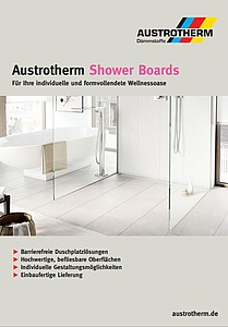 Prospekt: Austrotherm Shower Boards