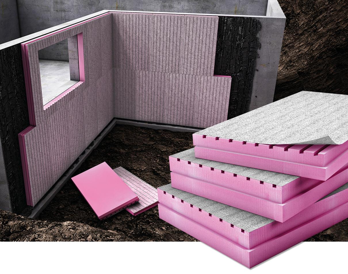 perimeterd mmung und drainung mit austrotherm xps top drain austrotherm d mmstoffe xps. Black Bedroom Furniture Sets. Home Design Ideas