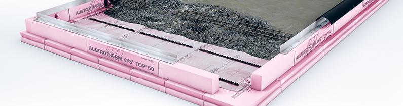 austrotherm fundamentplatten d mmsystem austrotherm d mmstoffe xps bauplatte. Black Bedroom Furniture Sets. Home Design Ideas